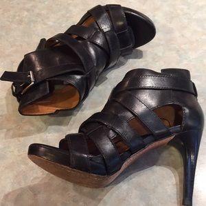 Michael Kors Shoes - Michael Kors black strappy sandals.